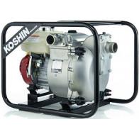 Мотопомпа грязевая бензиновая Koshin KTH-100X o/s